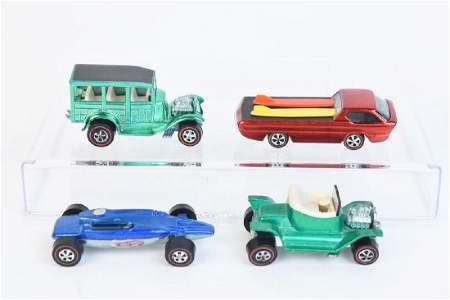 1968 & 1969 Redline Hot Wheels Cars