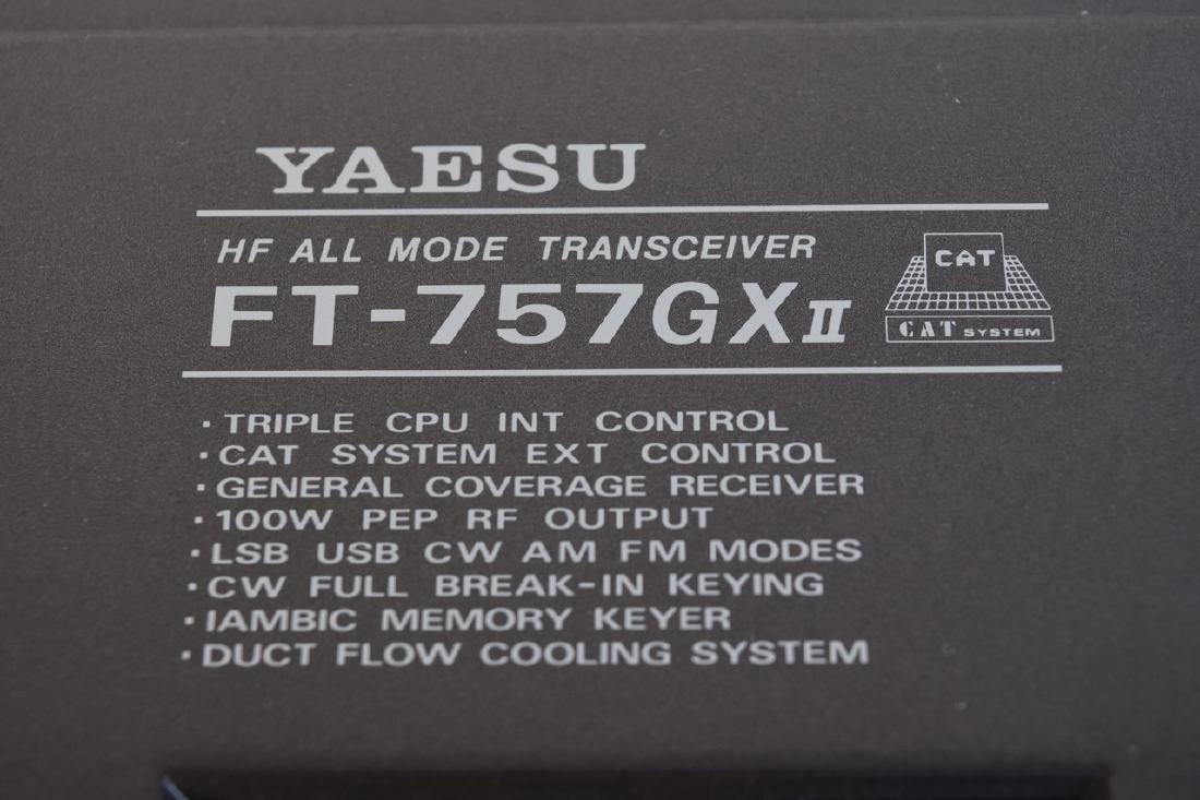 Yaesu FT-757GXII HF Transceiver - COMES W/ BOX! - 6
