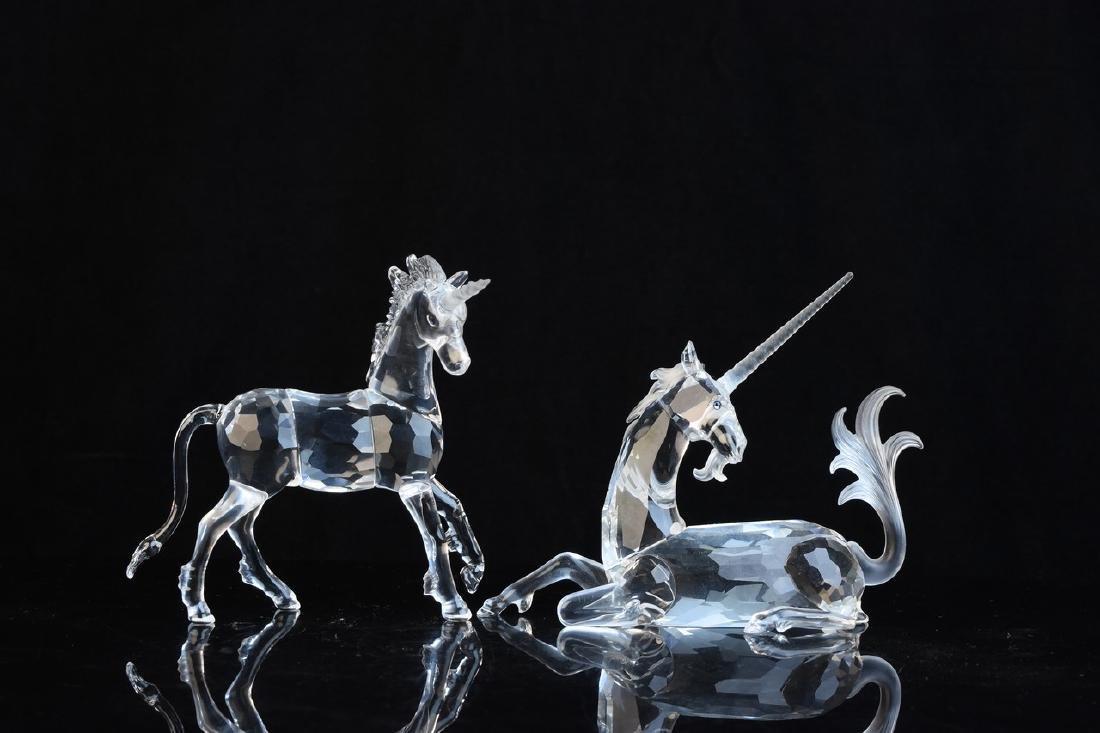 Swarovski Crystal Unicorns - 2