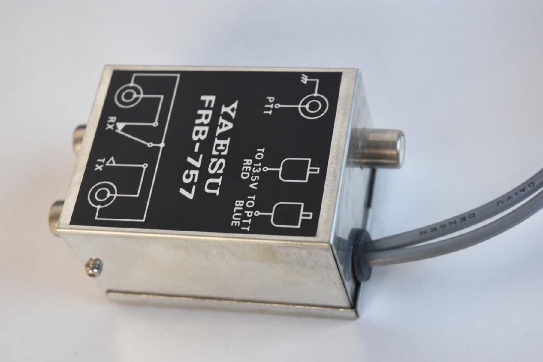 Yaesu FP-757HD Power Supply W/ Relay Box COMES W/ BOX! - 3