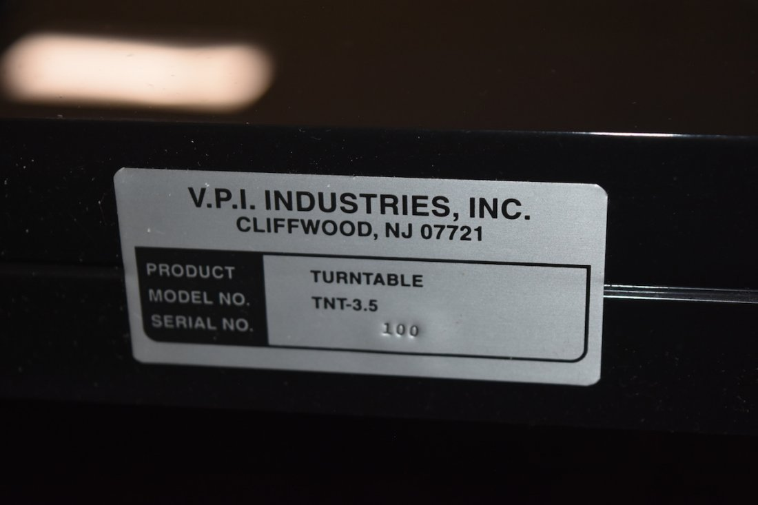 VPI TNT 3.5 Signature Series Turntable - WORKS - 10