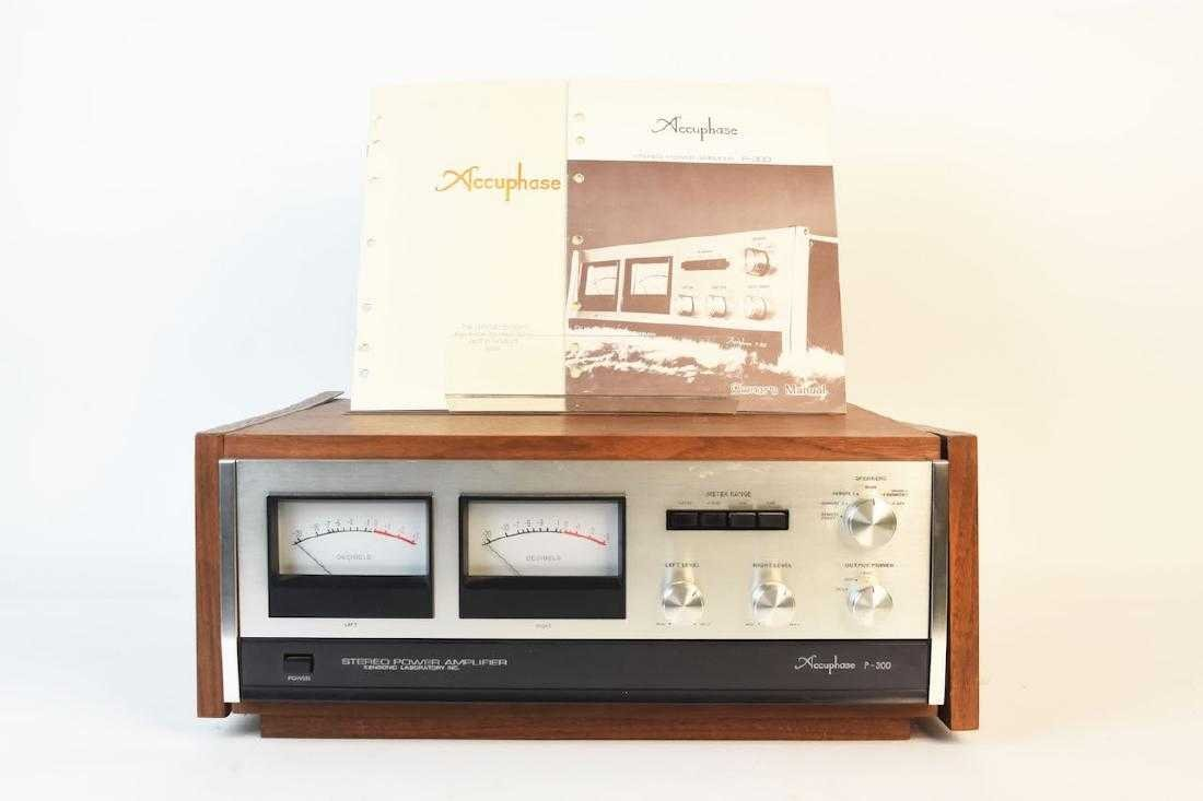 Accuphase P-300 Stereo Power Amplifier
