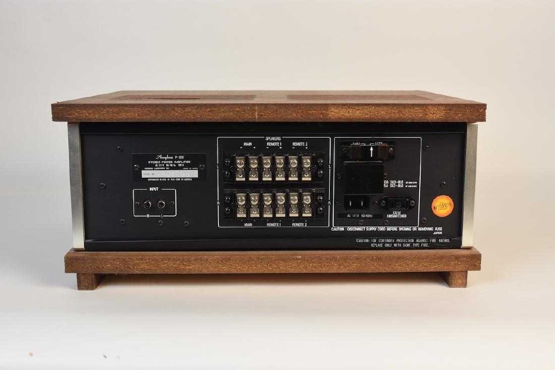 Accuphase P-300 Stereo Power Amplifier - 2