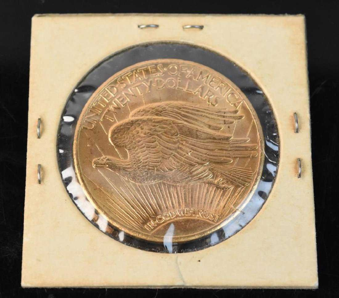 1927 $20 St Gaudens Double Eagle Gold Coin - 3
