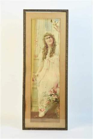 1916 Calendar Adv Pompeian Mfg Co Mary Pickford