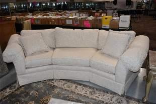 Huntington House Conversation Sofa w Curved Back