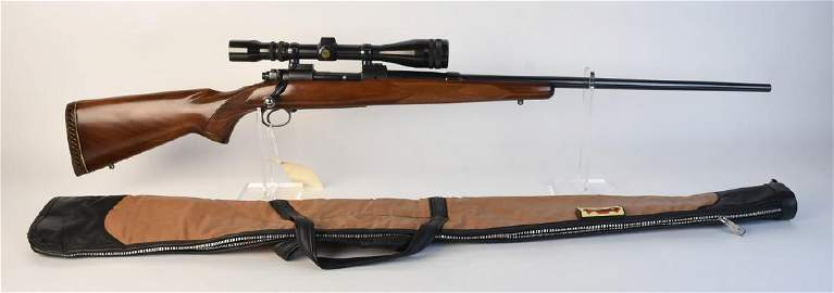 Winchester Model 70, 7mm Remington Mag w/ Scope