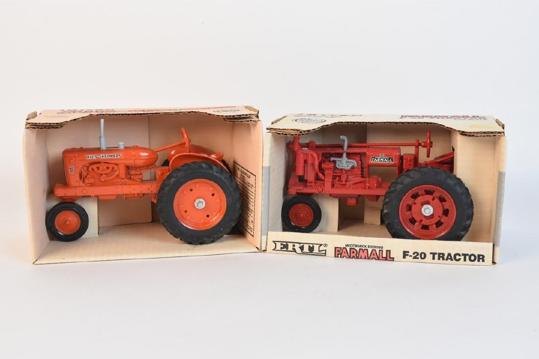 Ertl Diecast Tractors Incl. Farmall