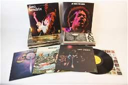 (25) Records incl. Boston, Queen, Jim Hendrix +