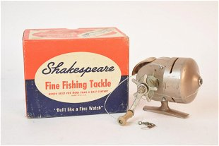 Antique Fishing Reel Parts - Aug 25, 2019 | Heartland