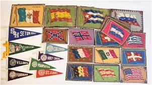 Pennants & Tobacco Felt Flags