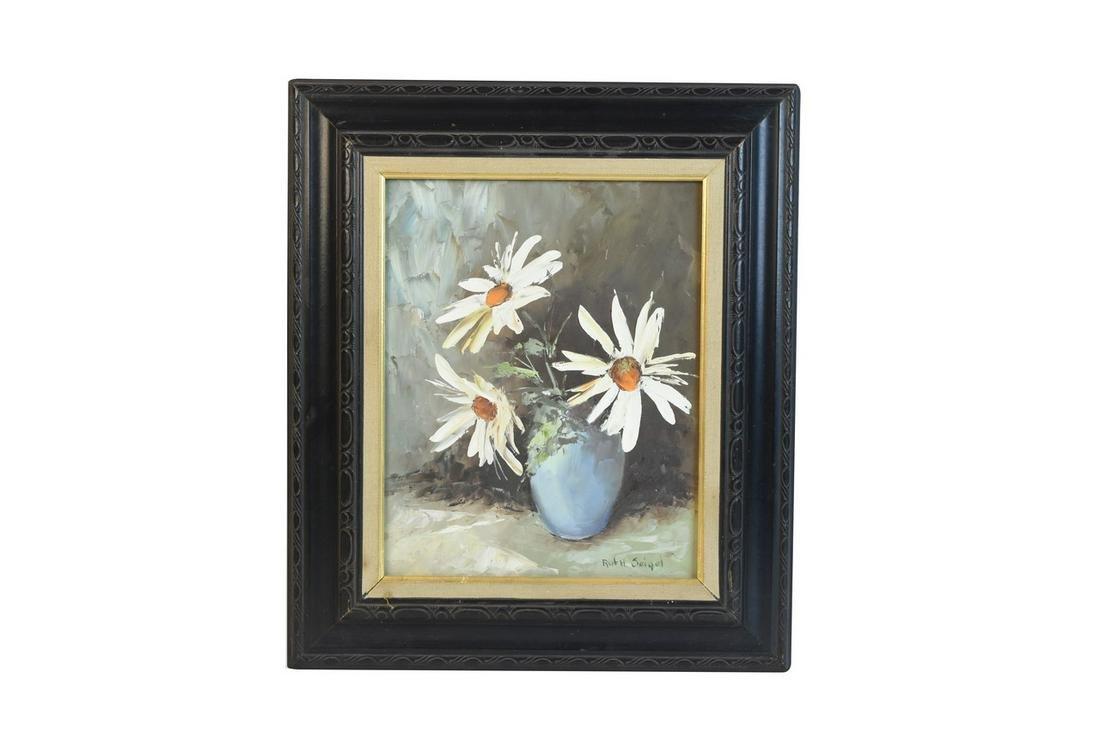 Ruth Seigel Still Life Oil Painting