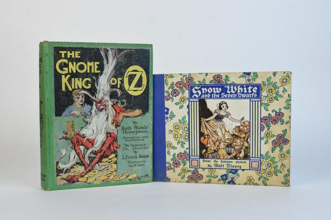 "Vtg. ""Snow White"" & ""Gnome King of Oz"""