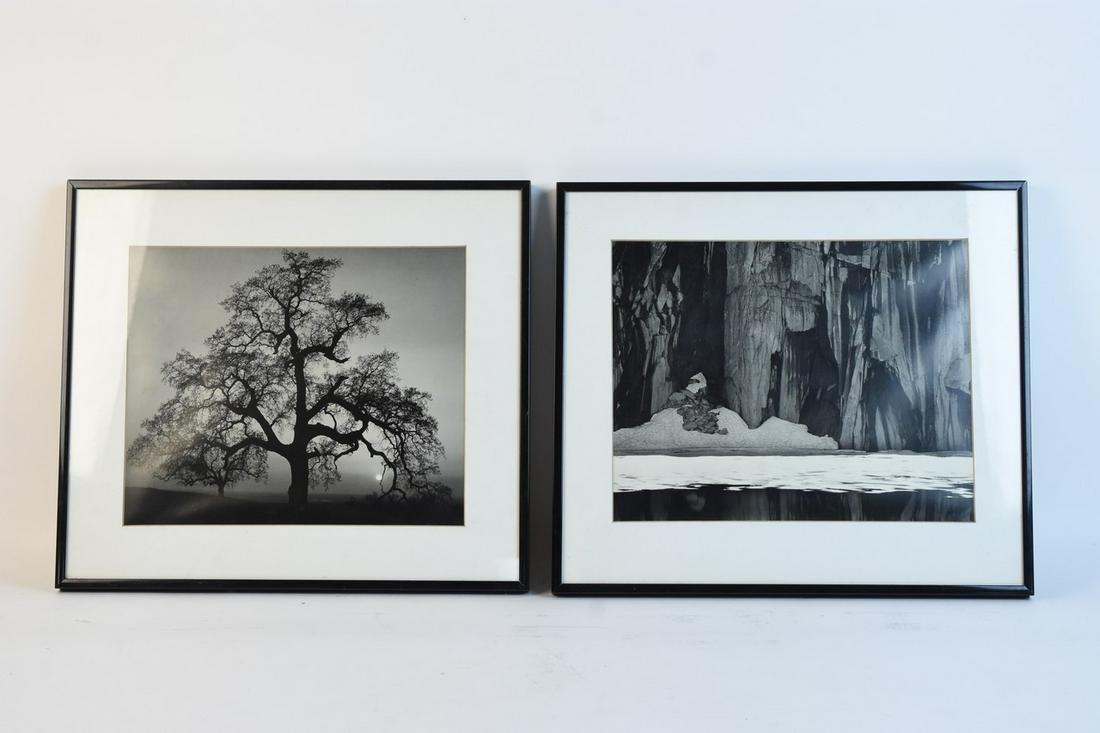 Ansel Adams Photographic Framed Prints