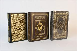 Easton Press Books Incl. Churchill