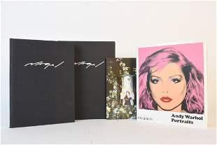 Art Books Incl. Nagel and Warhol