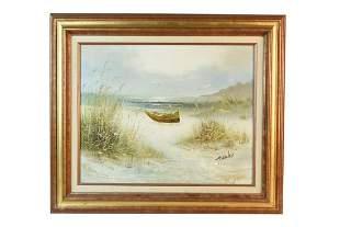 Howard Gailey Seascape Original Oil Painting