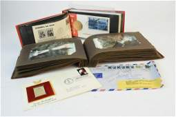 Ephemera Incl. First Day Covers & Postcards