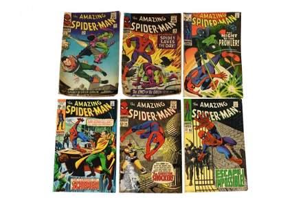 Vtg. Comic Books Incl. Spider-Man #78