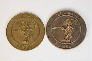 USS Wahoo Plaques