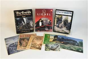 Train Catalogs Magazines Books and Postcard