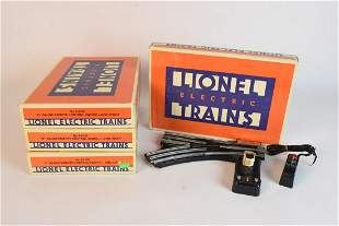 4 Lionel O Gauge Remote Control Switches