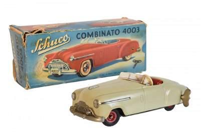 Schuco Combinato 4003 Tin Wind-Up Car