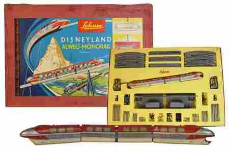 Schuco Disneyland Monorail w/ Transformer, 6333S