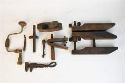 Primitive Wood Tools Planes Clamps