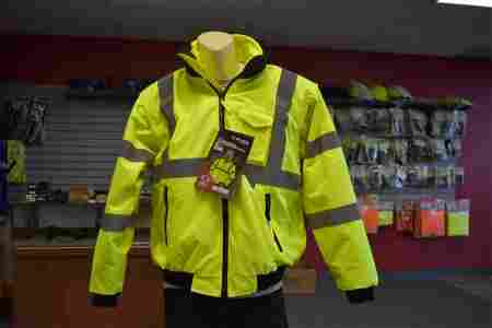 Majestic 8-in-1 HiVis Transformer Bomber, Large