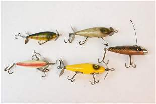 (5) South Bend Fishing Lure Assortment