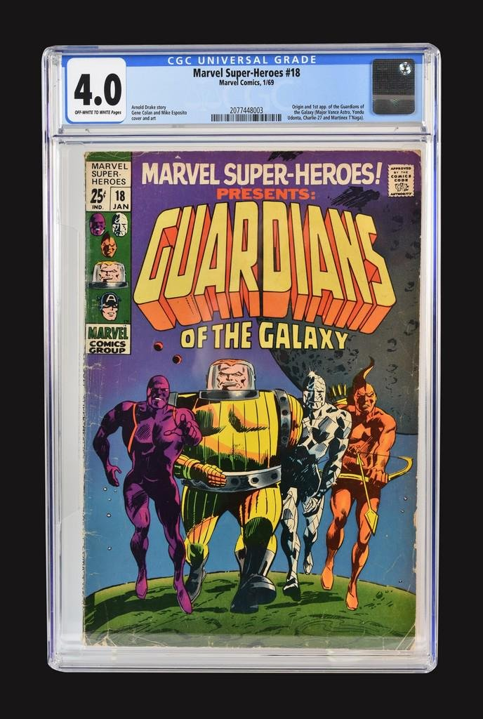 Marvel Super-Heroes #18 CGC 4.0