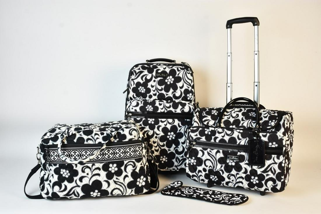 Vera Bradley 3-Piece Luggage Set