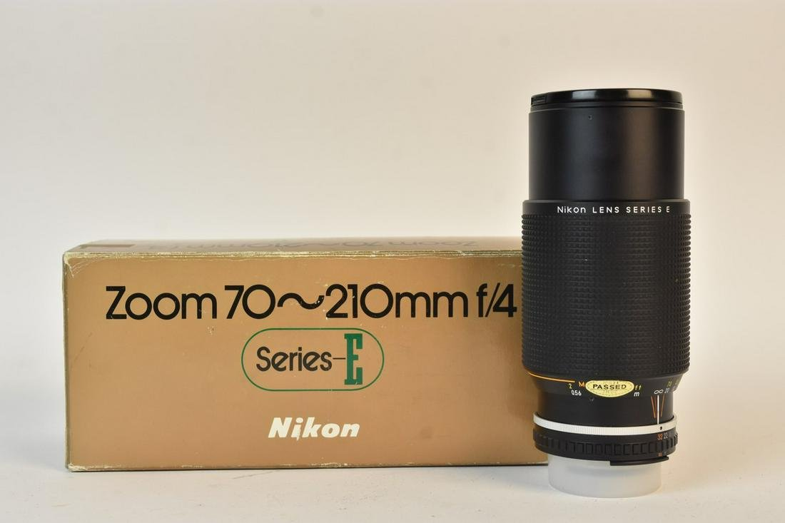 Nikon Series E Zoom 70-200mm Lens
