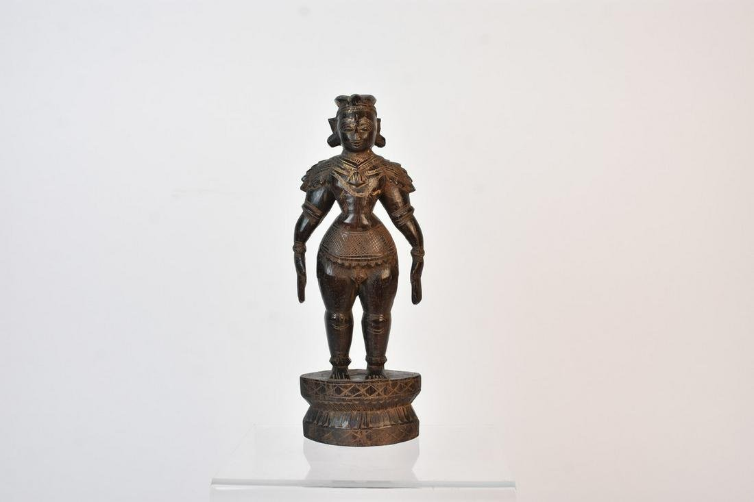 South Indian Marapachi Bommai - Wooden Doll