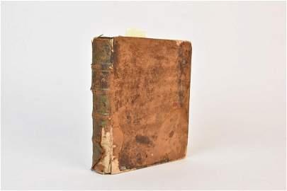 1704 Latin Book by Johann Brunnemann