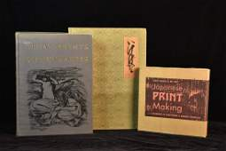 Print Making Books and The Maters Book of Ikeba