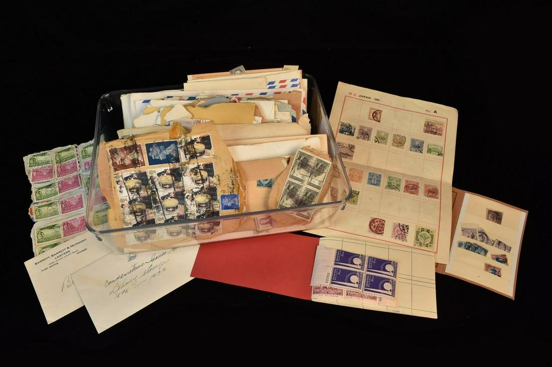 United States & International Stamp Collection