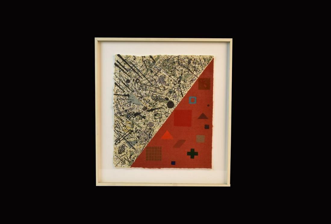 "David Shapiro ""Birnham Wood"" Silkscreen, 1979"