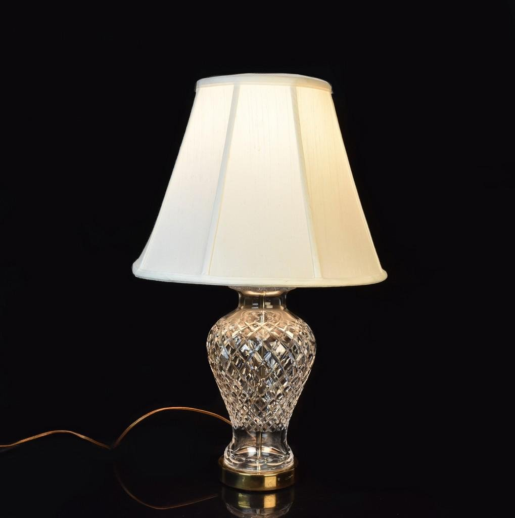 Waterford Crystal Lamp w/ Shade