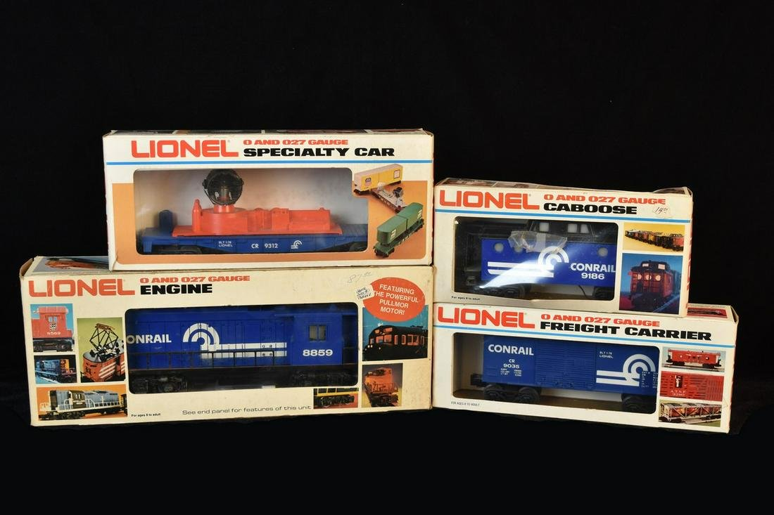 Lionel Conrail Rectifier, Carrier, Specialty Car &