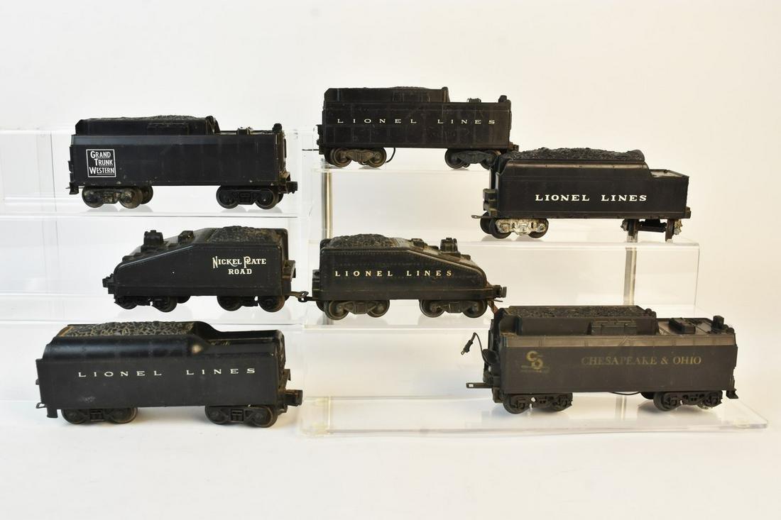 (7) Lionel Coal Tenders