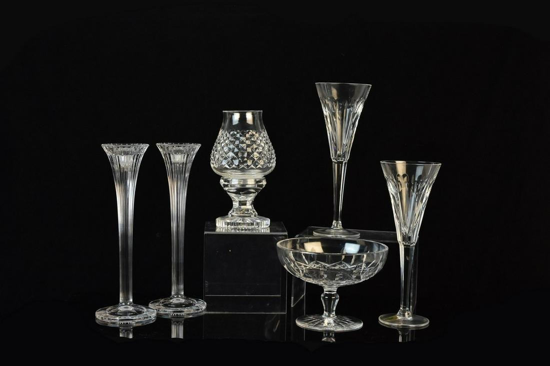 Waterford Crystal Assortment Incl. Votive Candle
