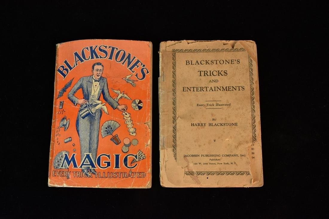 Vintage Blackstone's Magic Books