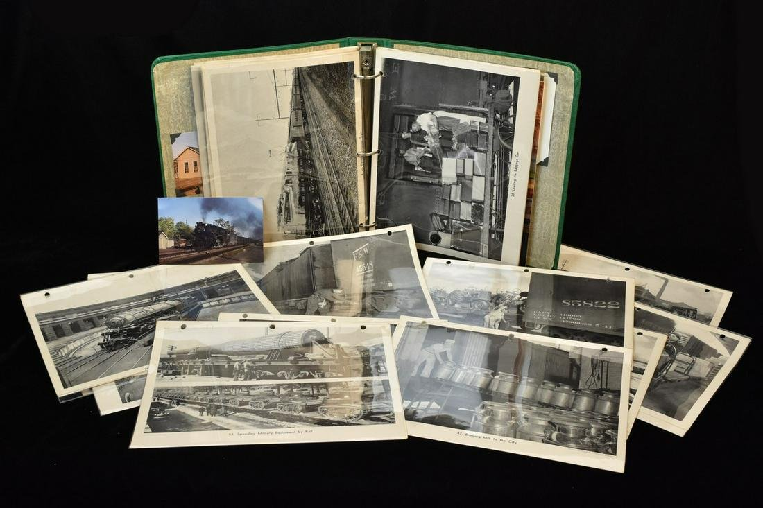 Railroad Postcards and Prints