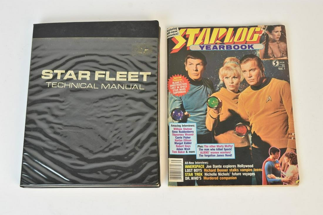 "FE Star Trek Technical Manual and ""Starlog"""
