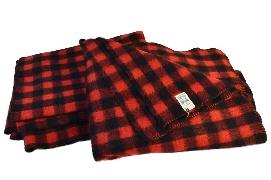 Kenwood Buffalo Plaid Wool Blankets