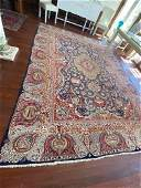 Persian Kashan Area Rug Hand Knotted 95
