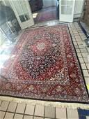 Persian Sarouk Area Rug w/ Garden of Eden, 6.5