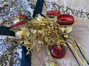 Brass Persian Hanging Lantern